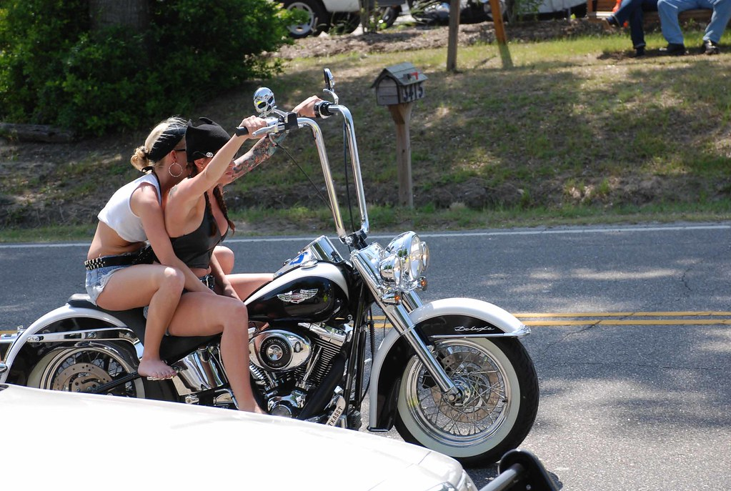 Absolutely agree Myrtle beach black bike week girls all became