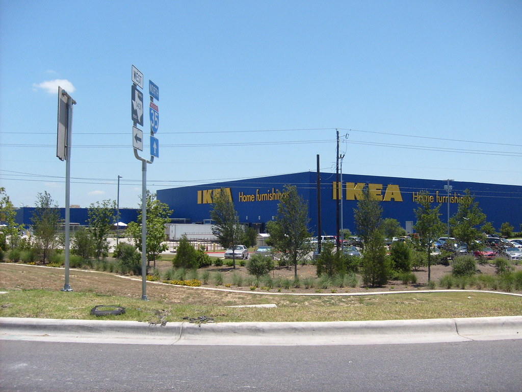 the ikea store at round rock tx oh oh brian there it flickr. Black Bedroom Furniture Sets. Home Design Ideas