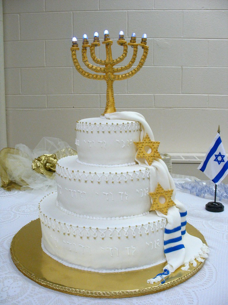 jewish wedding cake brooke flickr