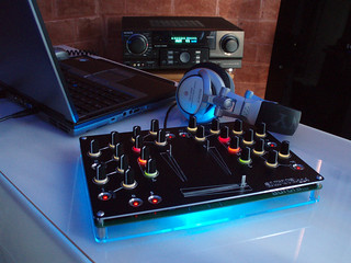 aurora 224 2 Channel Open Source DJ Mixer | by auroramixer