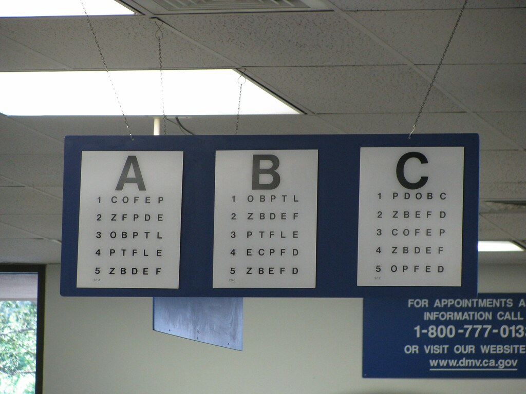 Eye chart how blind are you thetruthabout flickr