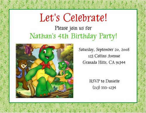 Turtle Birthday Party Food Ideas