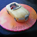 Ever tried making a car cake on New Years Day with a Hangover???