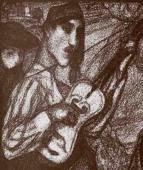 Contemporânea magazine, Eduardo Viana, O Dia do Santo, 1922a
