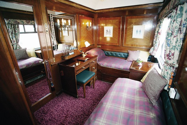 Train Chartering Royal Scotsman Cabin The Royal