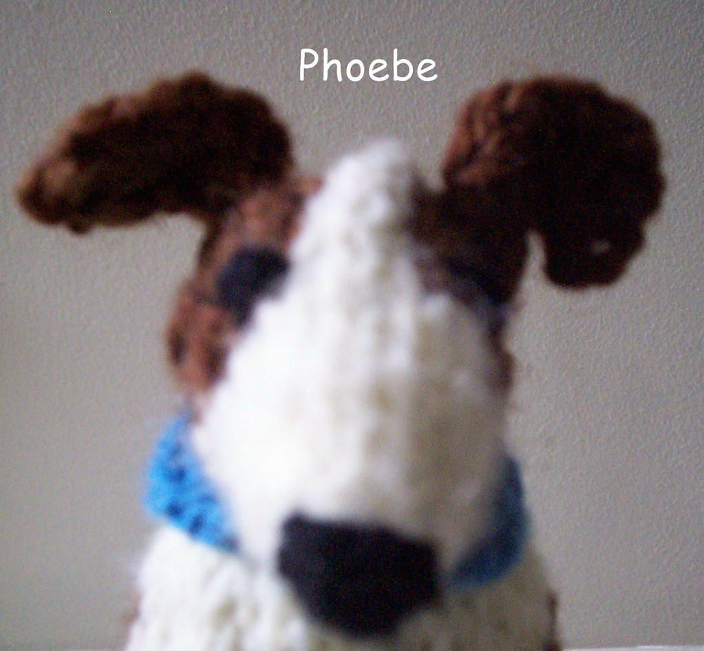 Knitting Pattern For Jack Russell : Mugshot Phoebe the knitted Jack Russell sites.google.com/s? Flickr