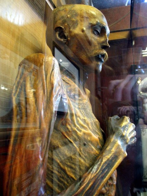 Sylvester the Mummy | This here is a natural mummy of a man … | Flickr