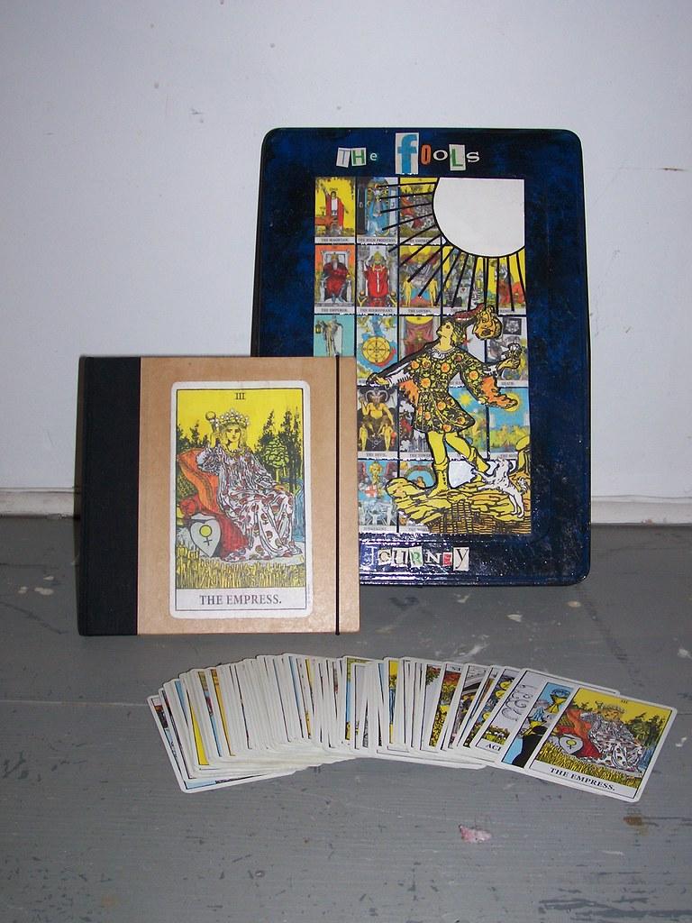 Tarot Card Box Set Including A Decorated