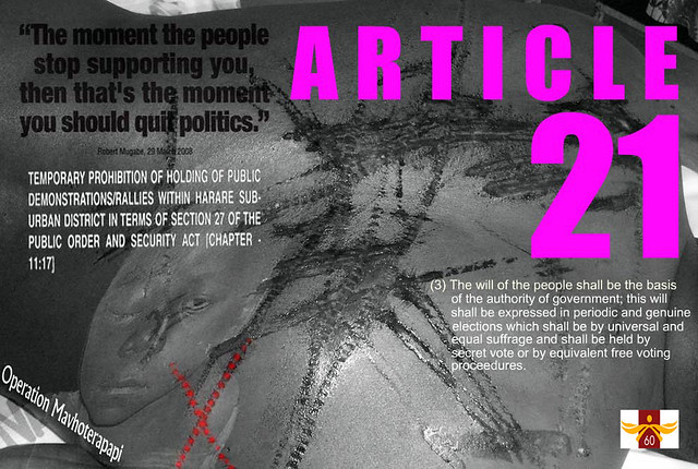 ARTICLE 21 - Universal Declaration of Human Rights 60th An ...