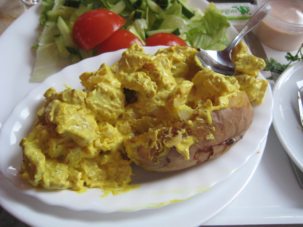 Baked Potato with Chic...