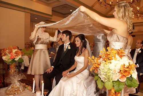 Persian wedding ceremony | A bride and groom get married ...