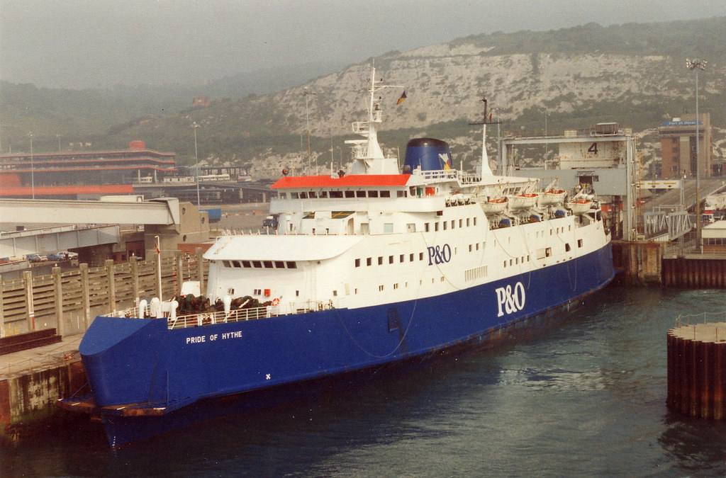 "Portsmouth To Le Havre >> 1991/1992: ""Pride of Hythe"" 
