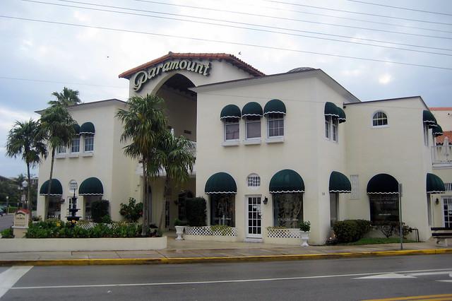 Florida Palm Beach Paramount Theatre Building Flickr