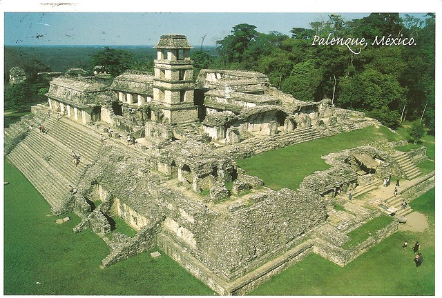 Mexico Palenque Ruins Maya City Sent By Eleni View Of Flickr