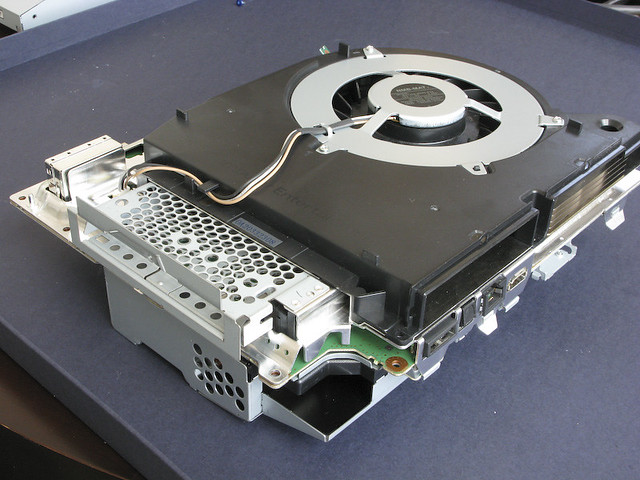 Inside Ps3 Reassembly Ps3 40gb Us Ntsc Retail Fall
