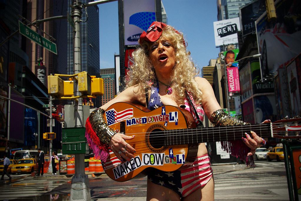 Sandy Kane, The Naked Cowgirl, WINS Legal Wrangle - CNN