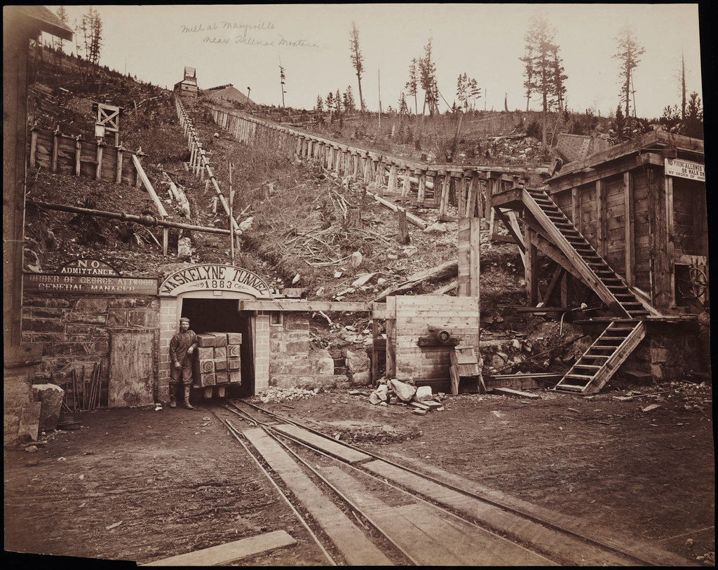 No 82 View Of Mines At Marysville Montana Including T