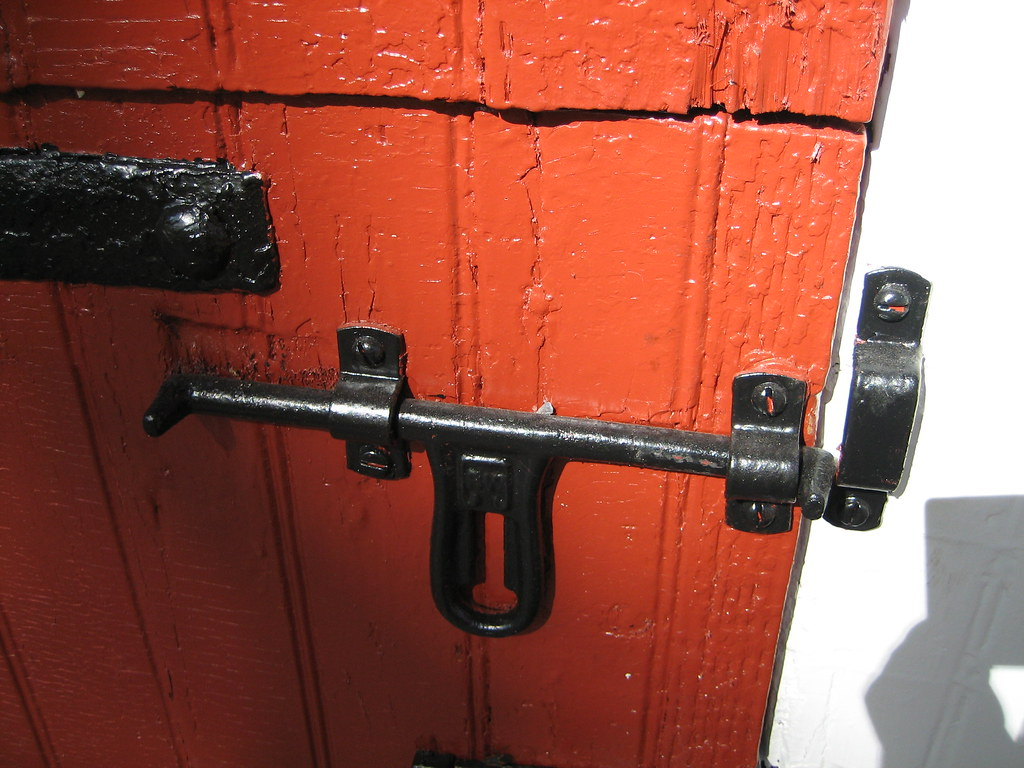 Old Fashioned Barn Door Latch This Old Door Latch Is On