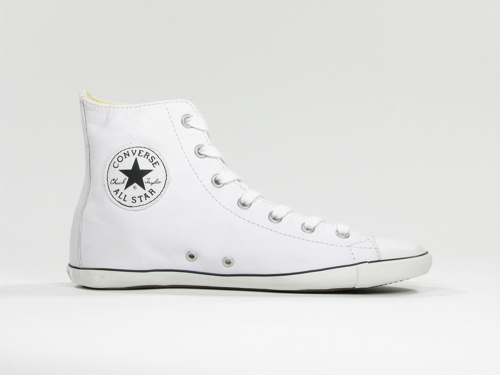 New Converse Chuck Taylor Red Leather Shoes