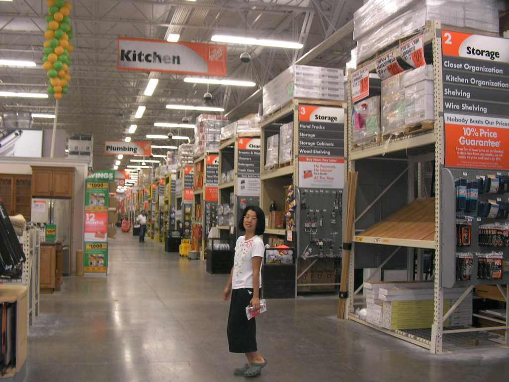 Us home depot store is big timothy takemoto flickr for Shop home depot