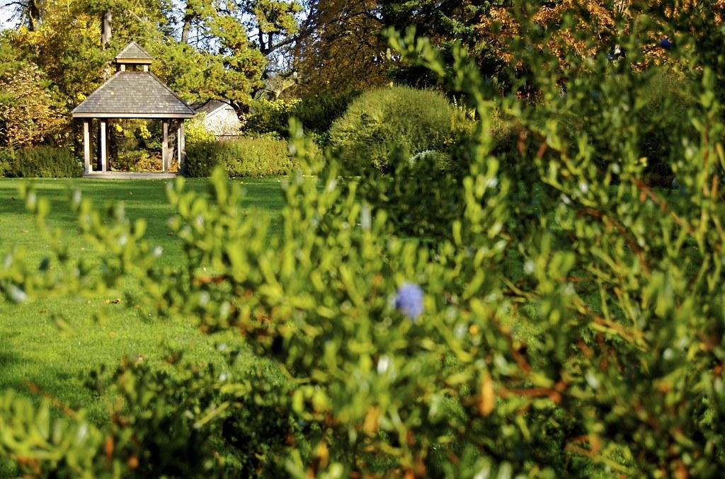 gazebo at clise mansion king county parks your big backyard flickr