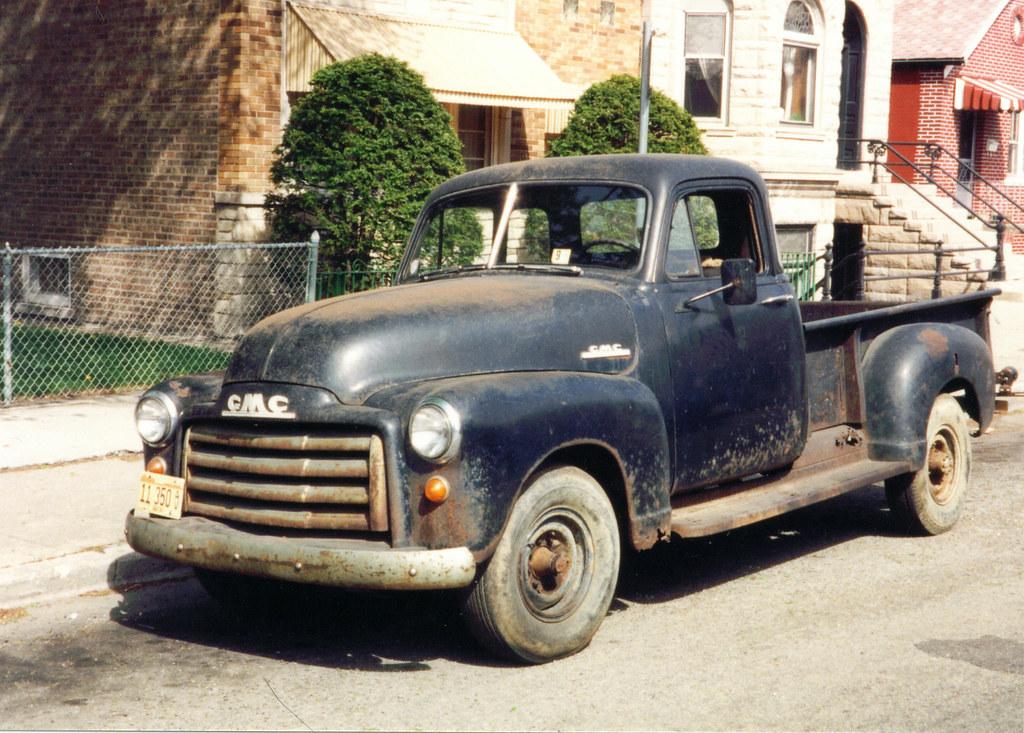 1951 gmc 5 window pickup original unrestored bukowski1 for 1951 gmc 5 window pickup
