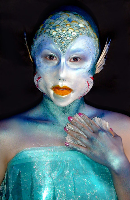 Special FX Makeup by CMS Student! | Makeup: Felicia Nott Mod… | Flickr
