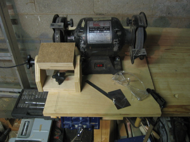 Project Working Diy Bench Grinder Jig