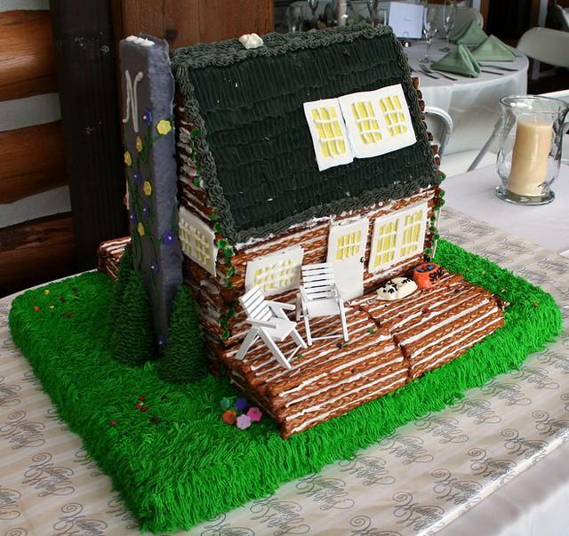 Log Cake Wedding