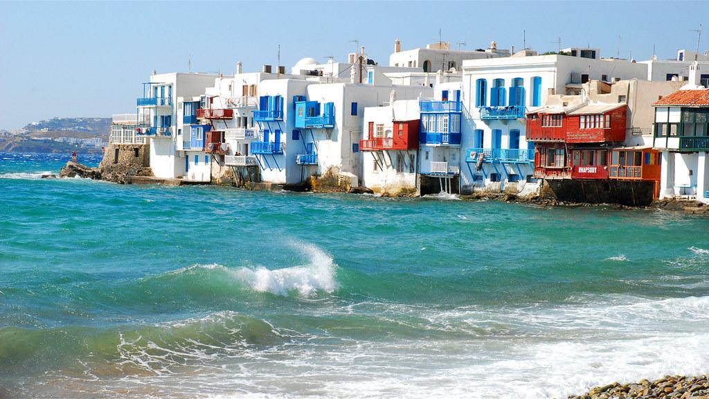 39 little venice 39 i mykonos greece i 39 m uploading these for Casas en islas griegas