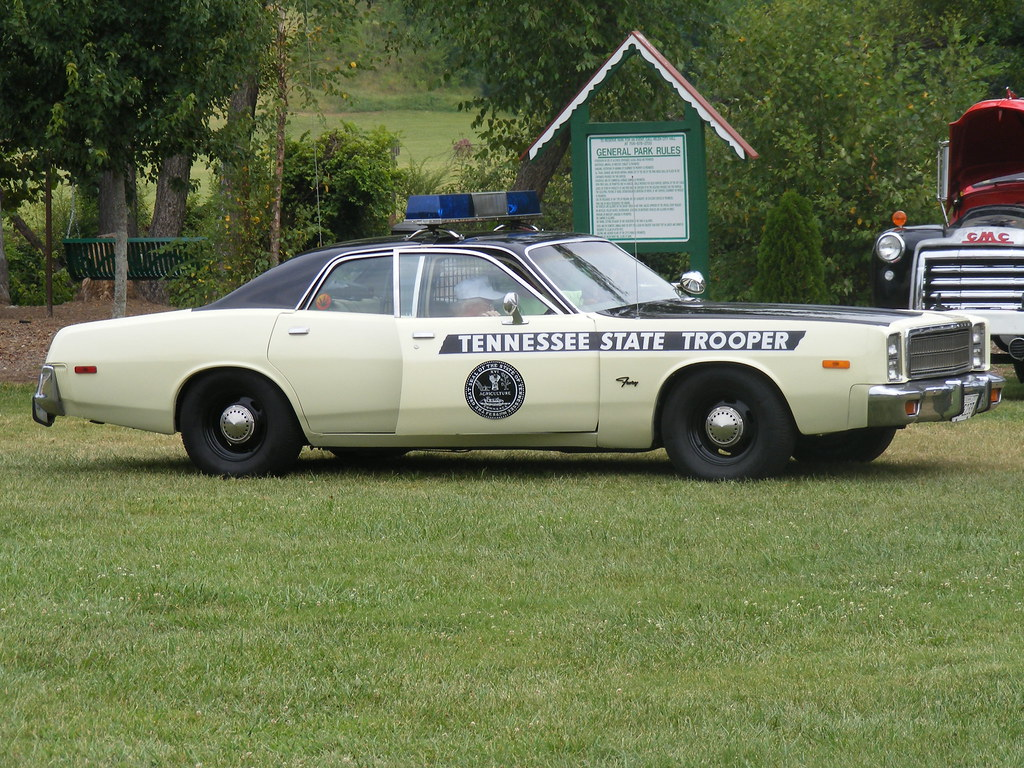Old Tennessee State Trooper Car! | They also has a sheriff\'s… | Flickr