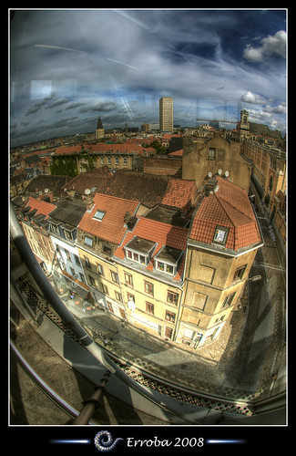 View from above - Brussels - Belgium :: HDR | by Erroba
