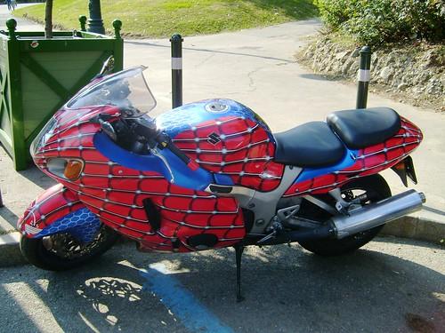 I found the spiderman 39 s bike flickr photo sharing - Spider man moto ...