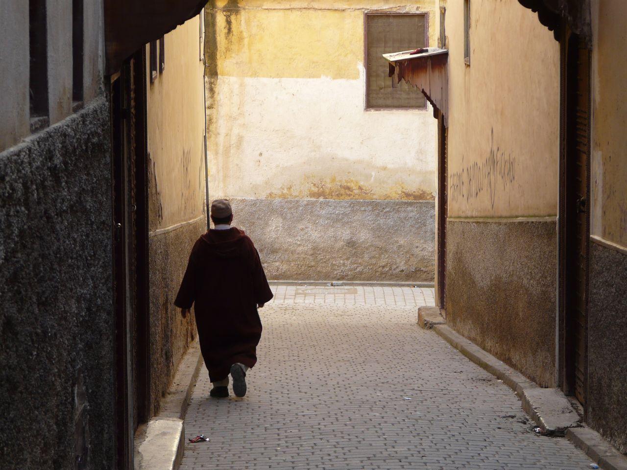 Calle en Fez (Marruecos)