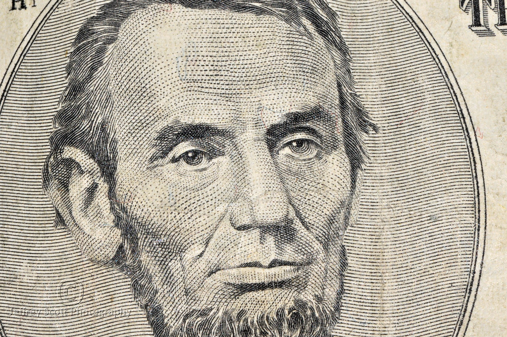 Abraham Lincoln 5 Bill Macro Shot Quot Honest Abe Quot And Presid Flickr