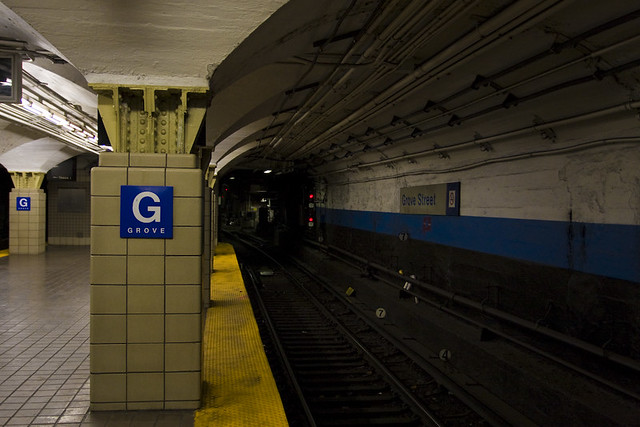 Grove St Path Train Jersey City