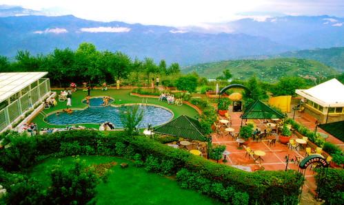 Pearl Continental Hotel, Swimming Pool (Bhoorban, Murree