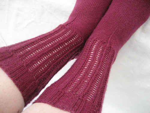 Lindale Lace Socks | by zilja