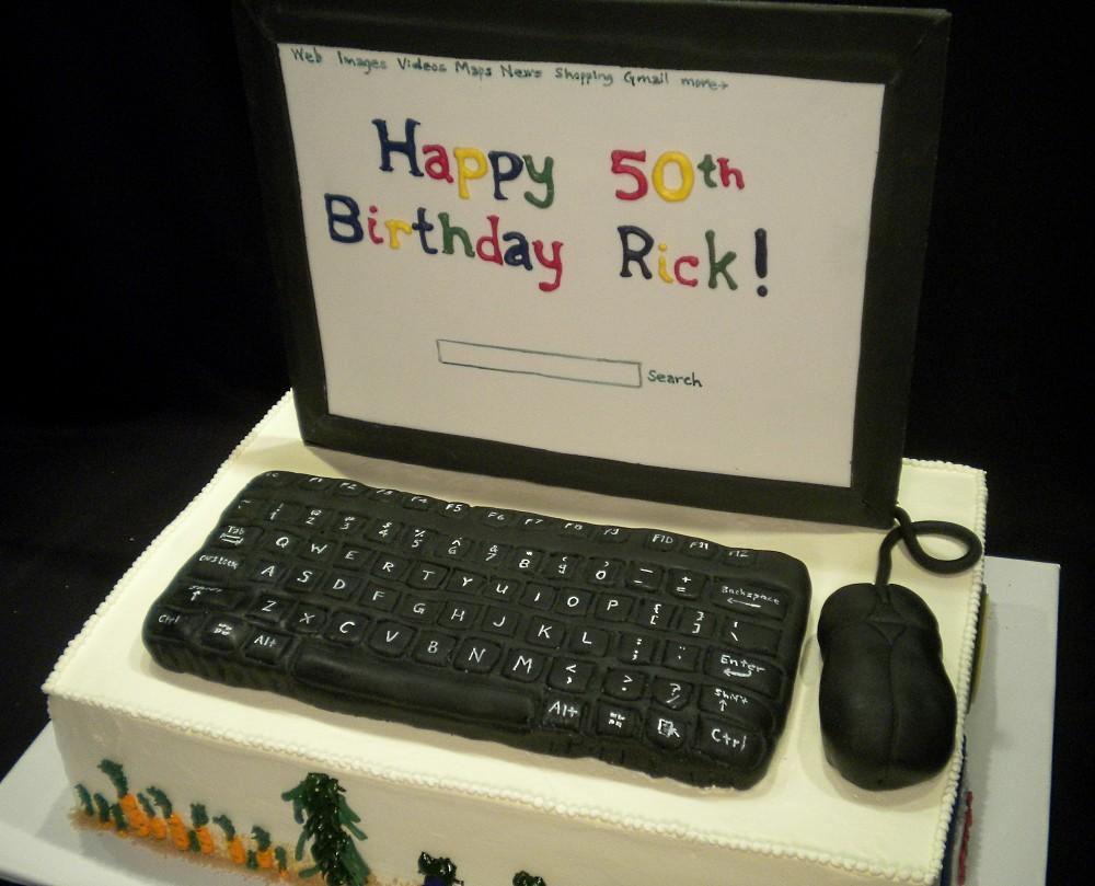 Keyboard Cake Ideas