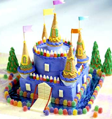 Disney Castle Cake Topper