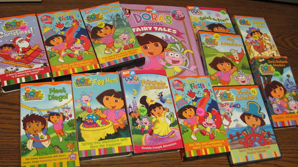 Dora the Explorer loot | garage sale score: Dora the ...