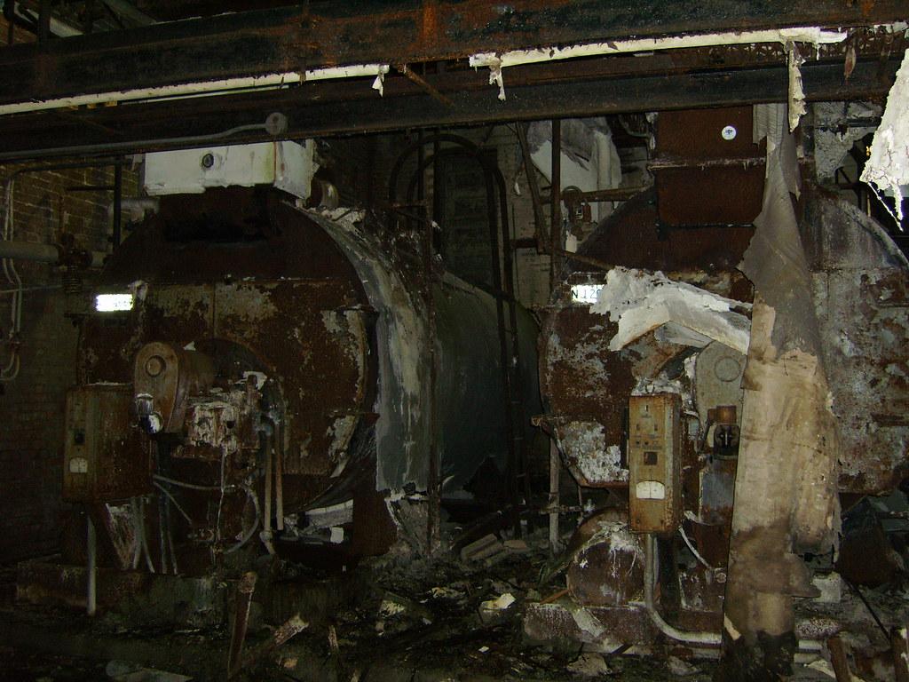 Freddy Krueger S Boiler Room Rusted Firetube Boilers In