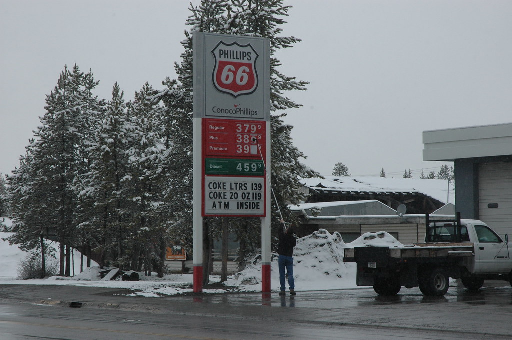 Gas Prices Rise In A Natural Disaster