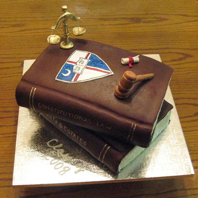 Law School Graduation Cake Decorations