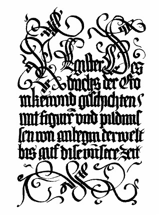 Gothic Calligraphy Sherrie Thai Of Shaire Productions
