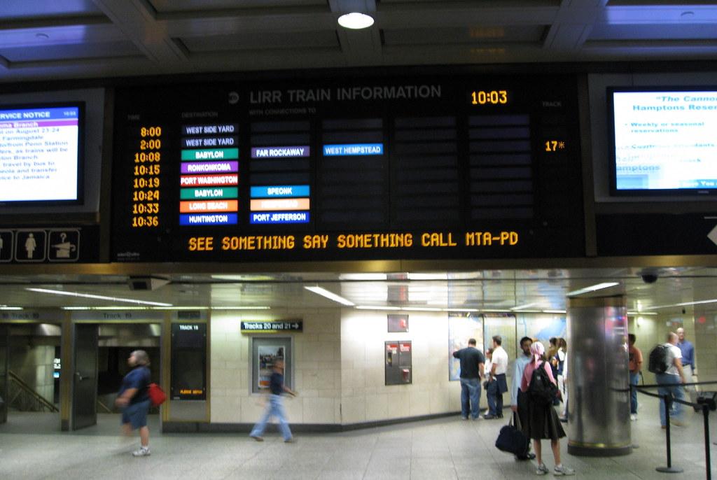 Lirr Penn Station 2 Karen Blumberg Flickr