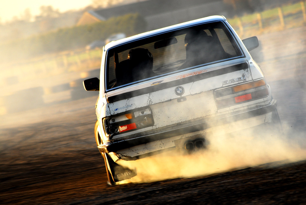 Bmw E28 528i Bmw 528 I Drifting At Nutts Corner N