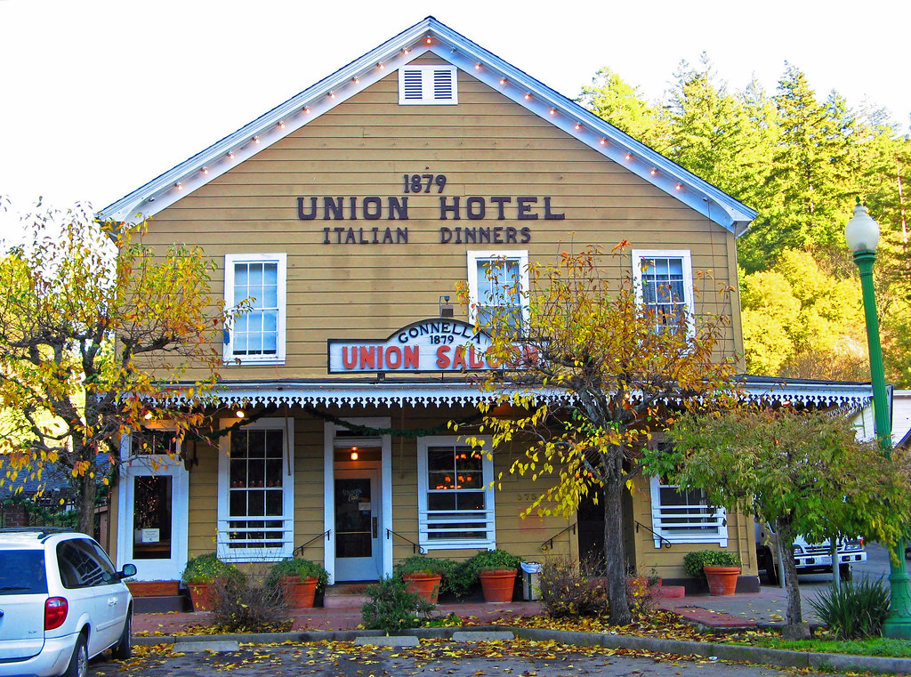 The Union Hotel Occidental S Union Hotel Is A Popular