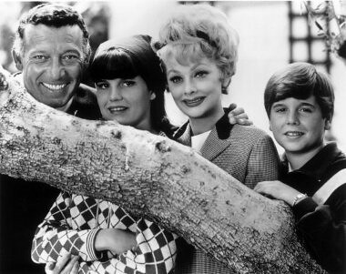 The Morton Arnaz Family 1960 S Gary Morton Lucie
