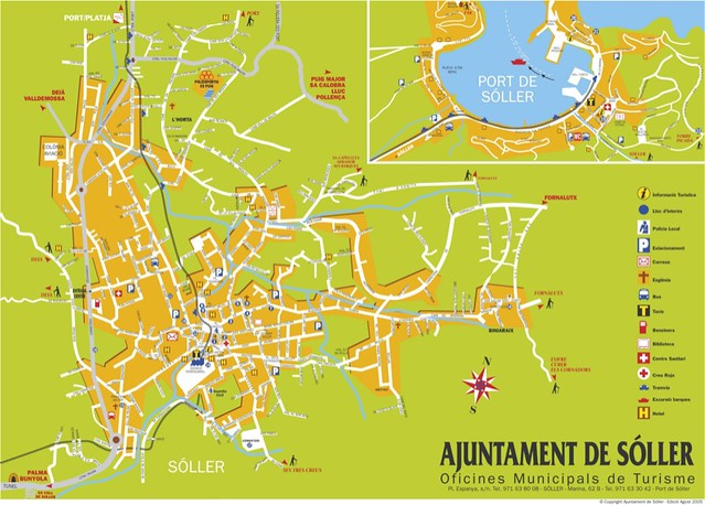map soller majorca spain Down loaded from the net Flickr